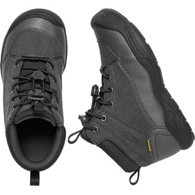 Keen Jasper Mid WP Shoes Youths Black/Raven